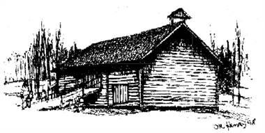 1700-talsloge från Torp i Remjäng
