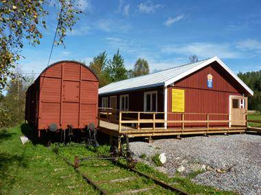 Järnskogs Hembygdsgård - järnvagsstation